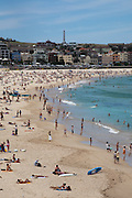 Bondi beach and bay, Sydney, Australia