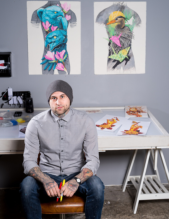Artist And Their Tools, a project that showcases Philly artist and their favorite tool to create art.