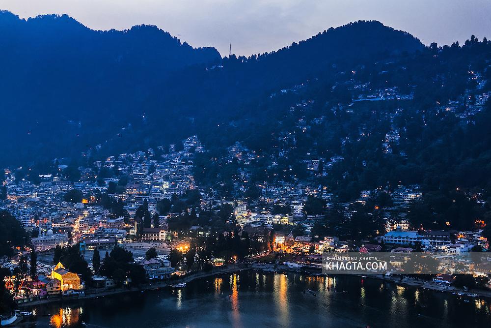 Traveling in Nainital, Uttarakhand, India