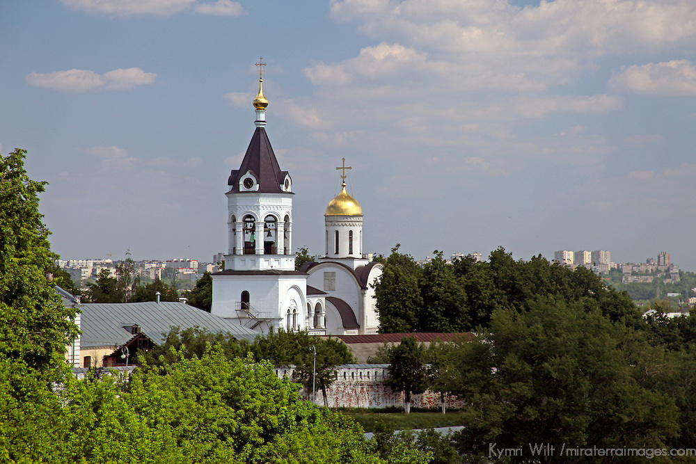 Europe, Russia. Vladimir. HIstoric cathedral monuments of Vladimir.