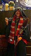 Spanish photographer KIKE CALVO dressed as Harry Potter at The Wizarding World of Harry Potter