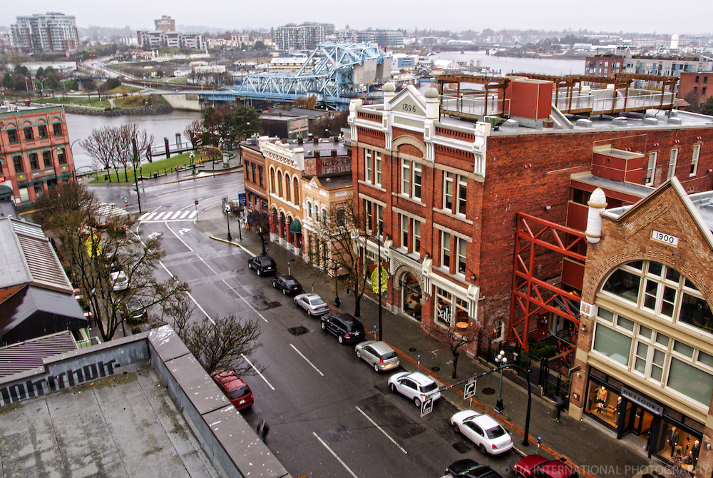 Yates Street, Old Town Victoria, British Columbia, Canada