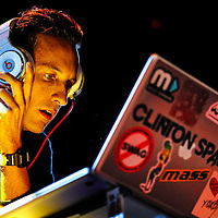MADISON, WI - MAY 13: DJ Clinton Sparks performs during Yahoo! On The Road at Majestic Theatre on May 13, 2013 in Madison, Wisconsin. (Photo by Michael Hickey/WireImage) *** Local Caption *** DJ Clinton Sparks