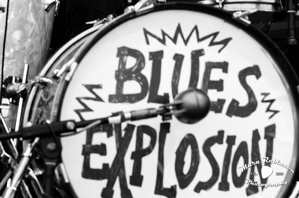 Jon Spencer Blues Explosion by Mara Robinson
