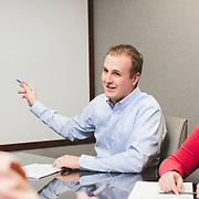 March 26 2014 - Frankel Zacharia in office shoot for website. Omaha, Nebraska