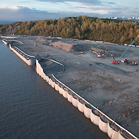 New construction at the Port of Anchorage