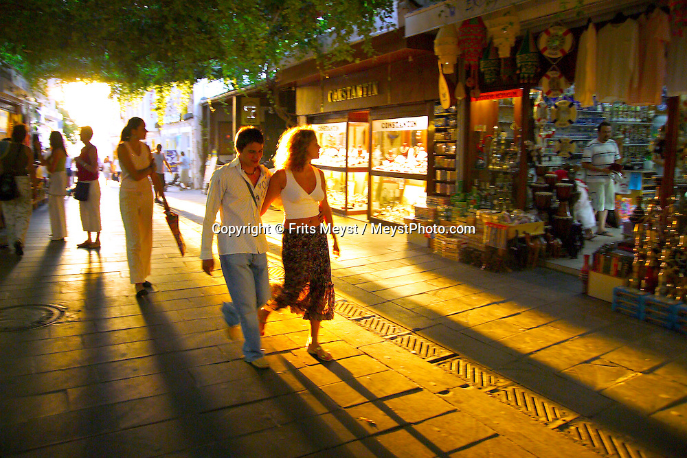 Bodrum, Turkey, July 2004. Bodrum has a laid back atmosphere.  Photo by Frits Meyst/Adventure4ever.com