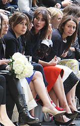 Samantha Cameron in the front row at the Erdem show at London Fashion Week, Monday, 16th September 2013. Picture by Stephen Lock / i-Images