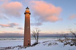 Sunrise at Little Point Sable<br />