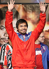 November 13, 2009: Manny Pacquiao vs Miguel Cotto Weigh-In