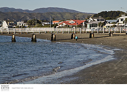 One of Wellington's older suburbs, Seatoun faces onto the inner harbour and is sheltered from the southerly storms.