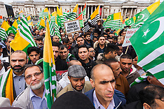 2014-10-26 Kashmiris protest Indian Occupation in London