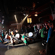 Kokon Taiko Drummers at Noise for the Needy 2011 Kick off Party at Neumos 3-10-2011