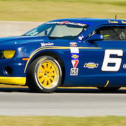 4 October 2009: Sunday Race day  from Virginia International Race way-Playboy Mazda MX5cup,Grand Sport and Street Tuner. #6 GS Drivers David Donohue and Jeff Bucknum , Stevenson Motorsports...