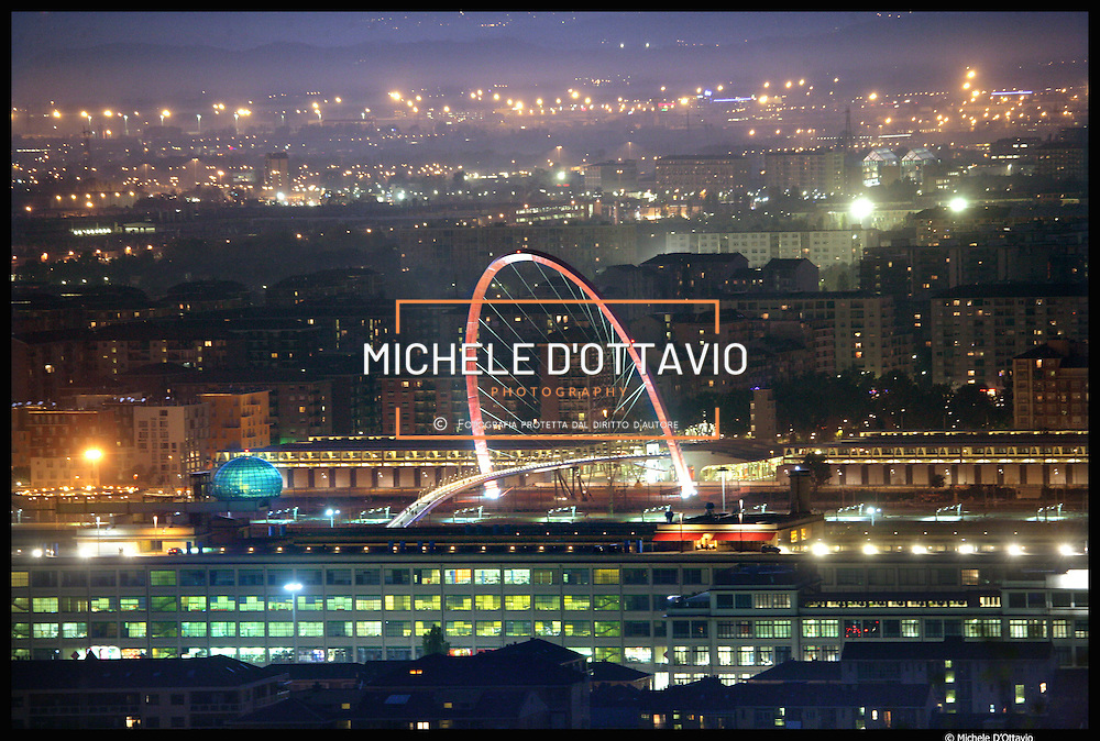 Torino Arco olimpico e Lingotto