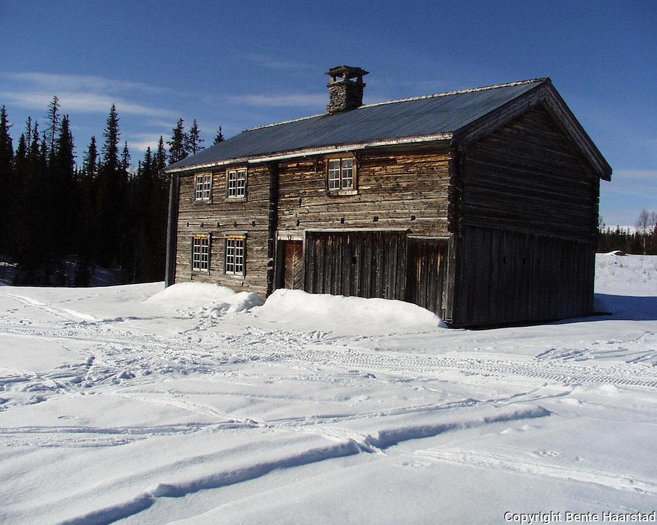 Gressåmoen er en fraflyttet fjellgård i Snåsa. En bra innfallsport til nasjonalparken.
