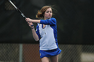 Oxford's Ann Marie Edlin vs. Saltillo in high school tennis in Oxford, Miss. on Thursday, March 10, 2011.