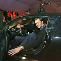 Tom Brady arrives at a Boston,MA charity event, Best Buddies, in an Audi. Photo by Mark Garfinkel