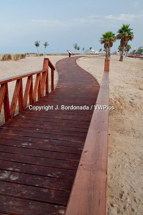 Beach of Peiscola, Castelln, Spain, Europe