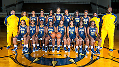 2016-17 A&T Women's Basketball Picture Day
