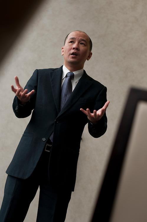 Yuen Kuan Moon, CMO SingTel..Photographer: Chris Maluszynski /MOMENT