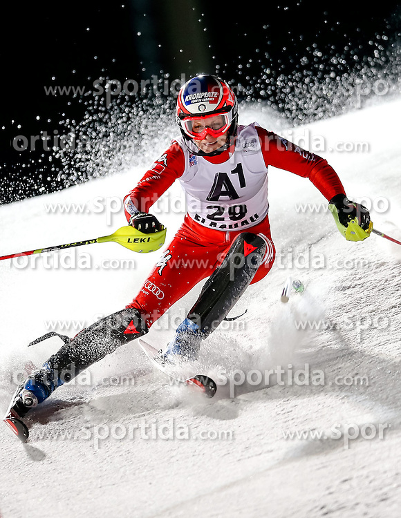13.01.2015, Hermann Maier Weltcupstrecke, Flachau, AUT, FIS Weltcup Ski Alpin, Flachau, Slalom, Damen, 1. Lauf, im Bild Manuela Moelgg (ITA) // Manuela Moelgg of Italy in action during 1st run of the ladie's Slalom of the FIS Ski Alpine World Cup at the Hermann Maier Weltcupstrecke in Flachau, Austria on 2015/01/13. EXPA Pictures © 2015, PhotoCredit: EXPA/ Johann Groder