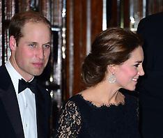 NOV 13 2014 Duke & Duchess of Cambridge, Royal Variety Performance
