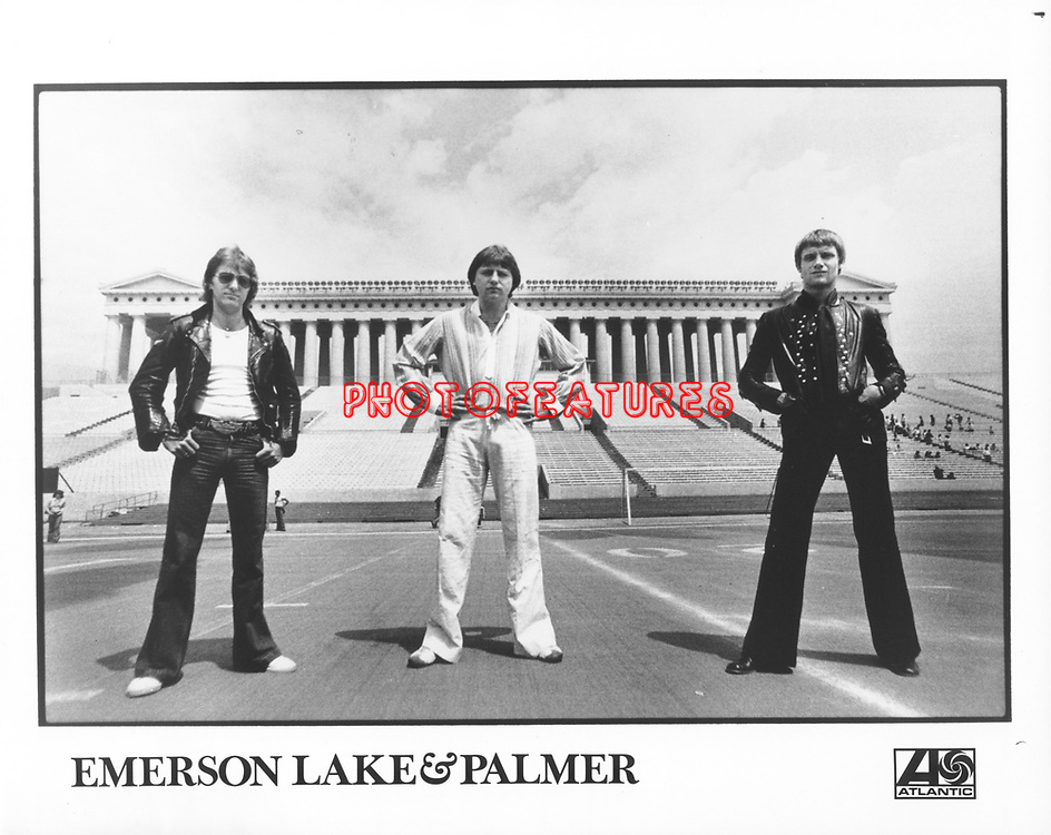 Emerson Lake & Palmer..photo from promoarchive.com/ Photofeatures....