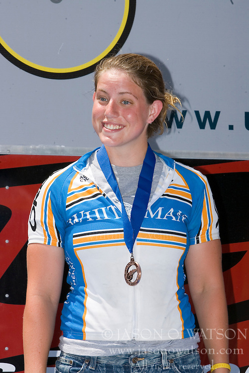 Kendi Thomas / Whitman College<br /> <br /> The 2007 USA Cycling Collegiate Road Championship criterium was held in downtown Lawrence, Kansas on May 13, 2007.