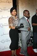 l to r: Janet Jackson and Jermaine Dupri at The Jermaine Dupri Birthday Celebrration held at Tenjune in New York City on September 23, 2008