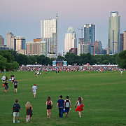 Wild Child performis at Blues on the Green in Zilker Park, Austin, Texas, June 4, 2014.