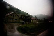 On the road to Sarajevo from Srebrenica.