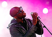 Ghostpoet performs live on the dance stage during day two of Reading Festival at Richfield Avenue on August 24, 2013 in Reading, England.  (Photo by Simone Joyner)