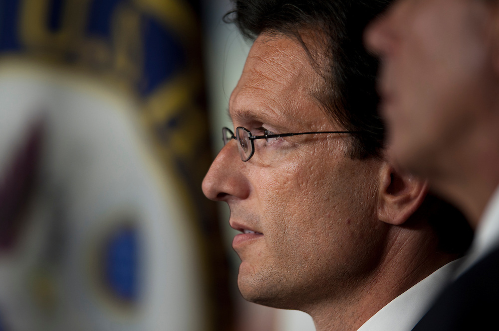 ERIC CANTOR (R-VA) during a news conference to discuss the Balanced Budget Amendment, which will be considered on the floor next week.