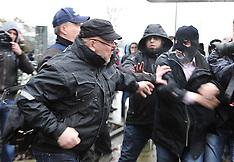 JAN 9 2013 Ford Genk Protest