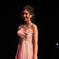 Tori Mathew competes in the evening gown portion during the 66th North Carolina Azalea Festival Scholarship Pageant at Saturday March 8, 2014 at Kenan Auditorium in Wilmington, N.C. (Jason A. Frizzelle)
