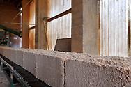 02/11/11 - MARMANHAC - CANTAL - FRANCE - Entreprise COMBELLE SAS, fabricant Francais de jouet et mobilier pour enfant. Atelier de recyclage des dechets de bois, fabrication de litiere pour chat - Photo Jerome CHABANNE