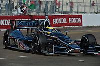 Sebastian Bourdais, Honda Grand Prix of St. Petersburg, Streets of St. Petersburg, St. Petersburg, FL USA 03/24/13