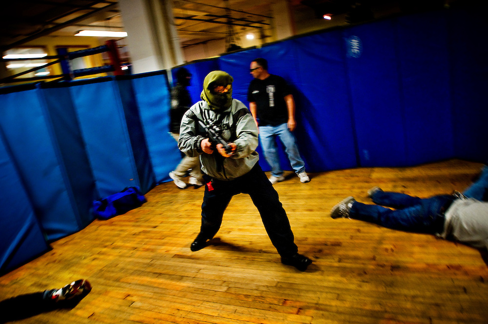 Jim Wagner's anti terrorism course in New York City...Photographer: Chris Maluszynski /MOMENT