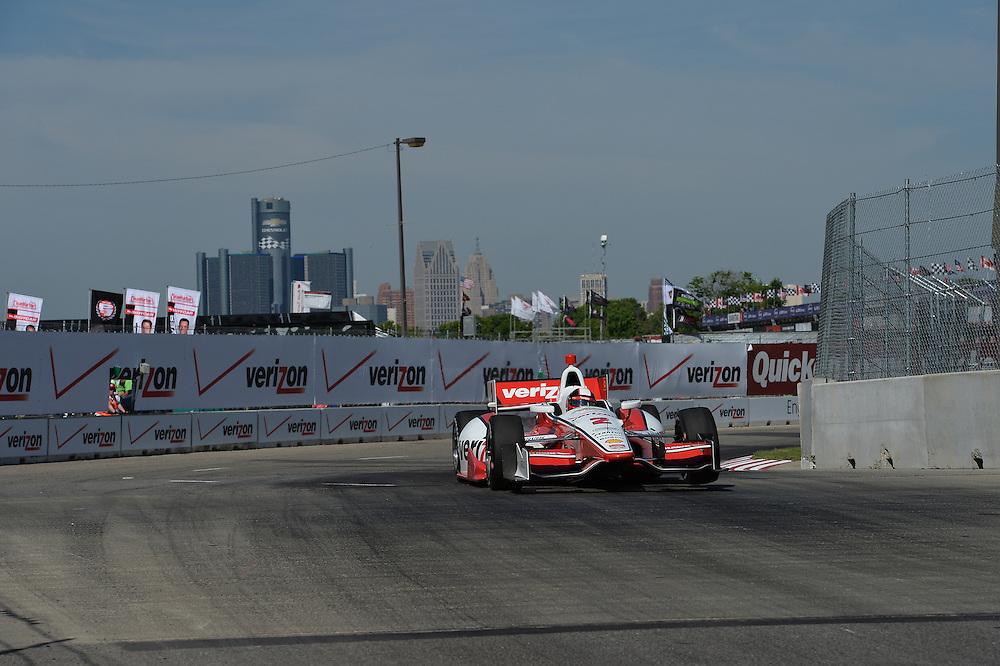 Juan Pablo Montoya, The Raceway at Belle Isle Park, Detroit, MI USA 6/1/2014