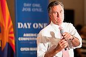 Mitt Romney Campaigns in Sun Lakes