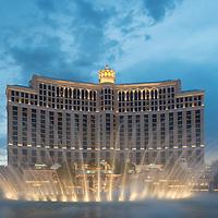The Strip - Bellagio's fountains