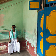 Mr. Mohammed at his home. Parangipettai.