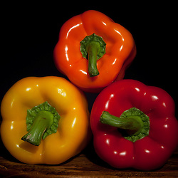 Shoot/Week 02: Peppers