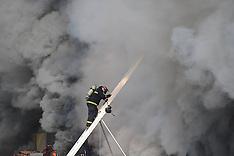 JAN 7 2013 Fire in Harbin, China