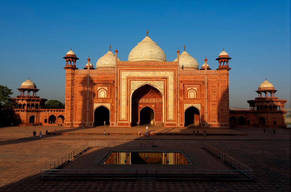 Taj Mahal, Agra, India.