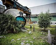 Interni della fabbrica di Terni