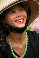 Woman in Central Market, Hoi An, Cental Vietnam
