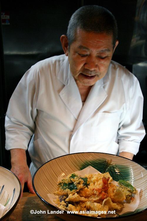 Japanese tempura chef john lander photography for Asian cuisine lander