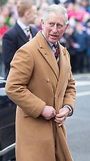 NOV 25 2013 Prince Charles visits Sherston, Wilts